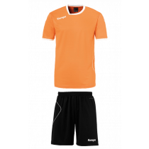 "Kempa Trikot-Set ""Curve"" Herren Orange/Schwarz"