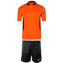 "Teamskin Trikot-Set ""Skin-One / Düsseldorf"" Orange/Schwarz"