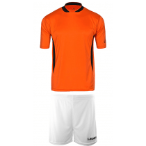 "Teamskin Trikot-Set ""Skin-One / Düsseldorf"" Orange/Weiß/Schwarz"