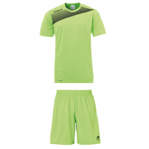 "Uhlsport Trikot-Set ""Liga 2.0 / Center Basic II"" Hellgrün/Schwarz"