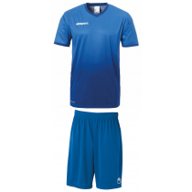 "Uhlsport Trikot-Set ""Division / Center Basic II"" Blau/Dunkelblau"
